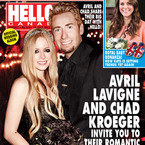 First pics of Avril Lavigne's black wedding dress