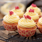 Vanilla Frosted Cupcakes recipe
