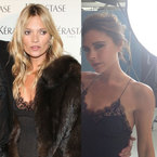 FASHION FIGHT: Victoria Beckham v Kate Moss in Louis Vuitton lace