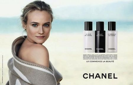 Diane Kruger in new Chanel skincare campaign