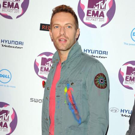 Chris Martin of Coldplay attends the 'MTV Europe Music Awards 2011' in Belfast, Northern Ireland