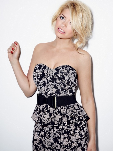 Holly Willoughby models AW13 collection Very.co.uk