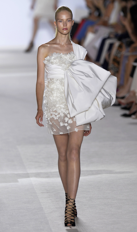 Wedding dress inspiration from Couture Fashion Week