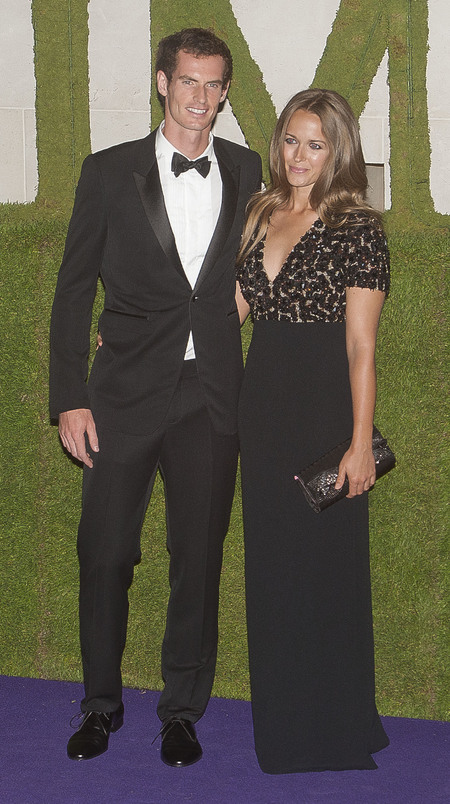 Kim Sears wears Burberry Prorsum AW13 to Andy Murray's Champions' Dinner