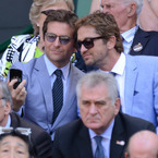 Bradley Cooper and Gerard Butler's bromance at Wimbledon
