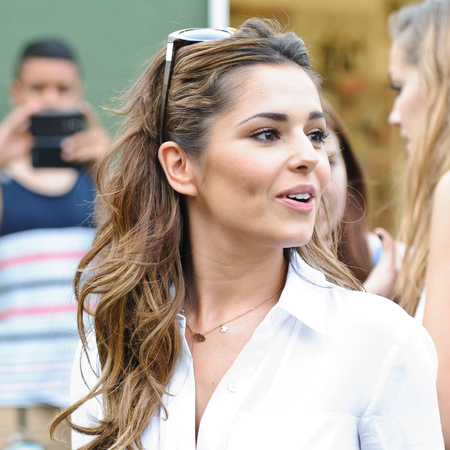 Cheryl Cole works barely-there beauty at Wireless festival