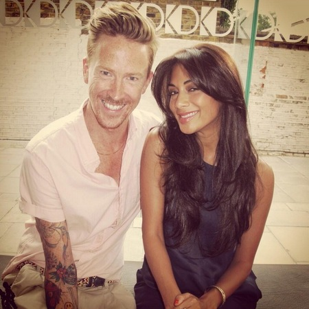 Nicole Scherzinger lightens her brunette hair for summer with Ben Cooke
