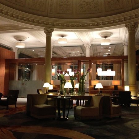 Threadneedles Hotel, London, lobby