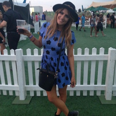 Caroline Flack at Wireless festival 2013
