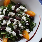 Greek Recipe: Beetroot and Orange summer salad