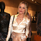 Laura Whitmore is gorgeous in head-to-toe Armani