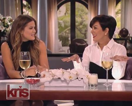 Kris Jenner & Kournet Kardashian play I never