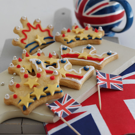 Royal Shortbread Biscuits