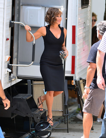 Jennifer Aniston champions the classic LBD in New York