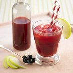 Blackcurrant hangover juice recipe