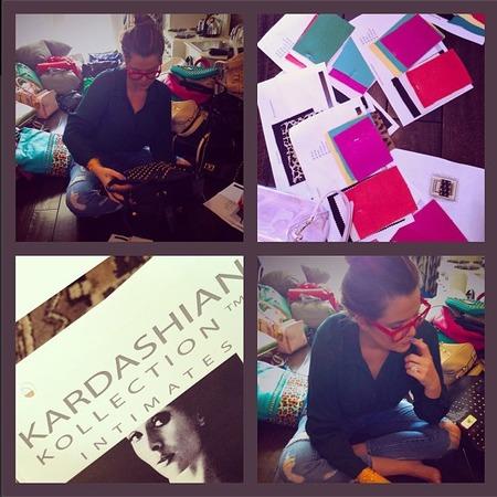Kardashian Kollection behind the scenes