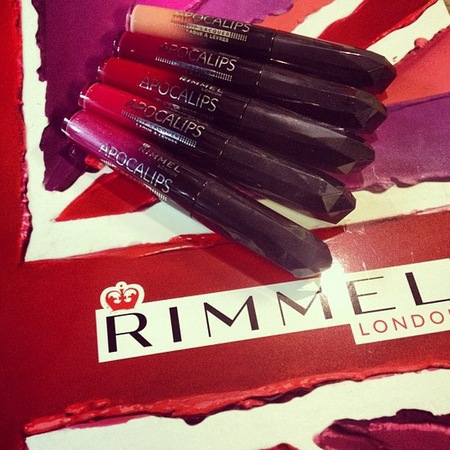 Rimmel London AW13 Apocalips lip shades