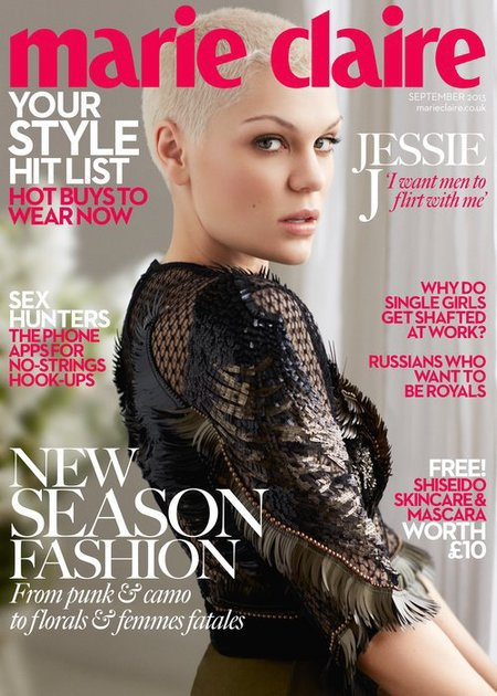 Jessie J cover shoot for Marie Claire