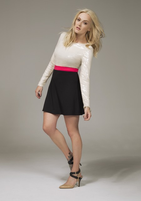 Fearne Cotton models AW13 collection for Very.co.uk