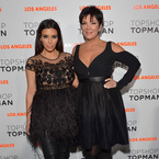 Kim Kardashian's first appearance since birth of North West