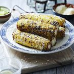 Mexican Sweetcorn Elotes with chilli
