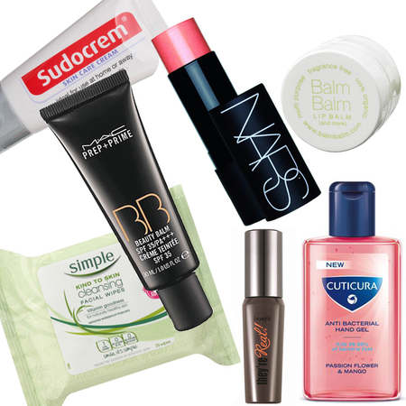 Avoid loosing expensive beauty products at airport security with these in-flight minis