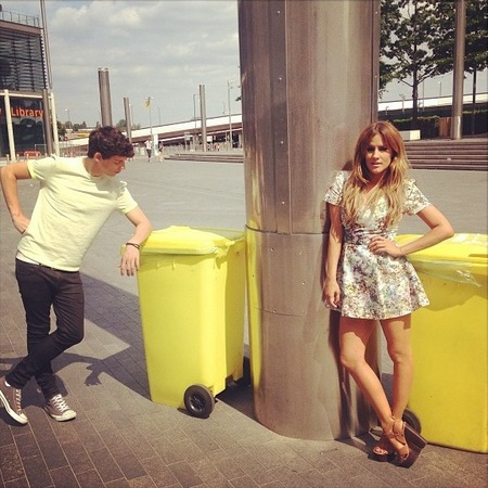 Shop Caroline Flack's Oasis dress from Xtra Factor filming