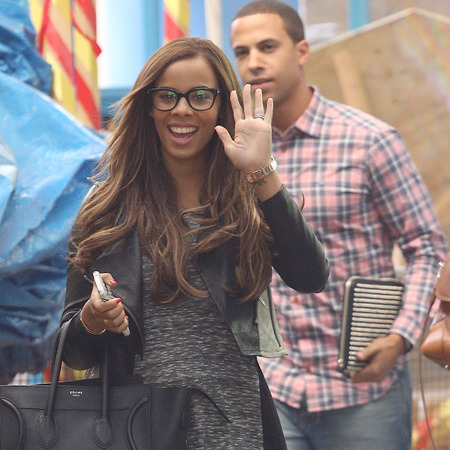 Marvin and Rochelle humes in London