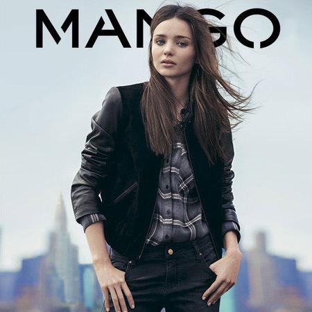 Miranda Kerr front Mango AW13