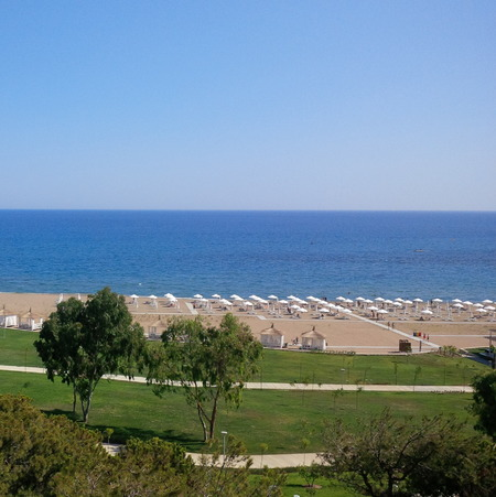Private beach Antalya Turkey