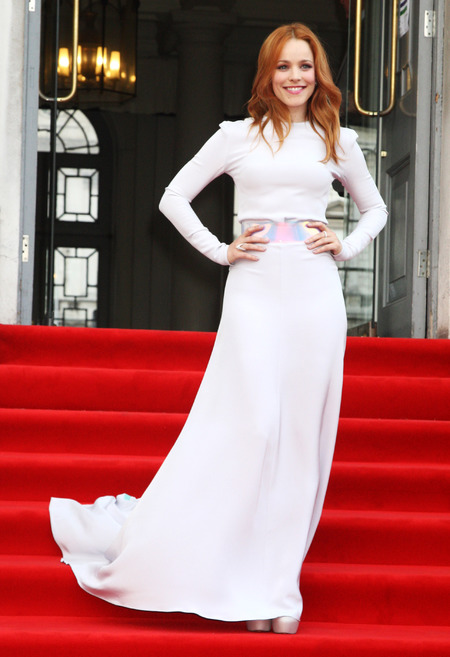 Rachel McAdams wears Roksanda Ilincic at About Time London premiere