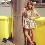 SHOP: Caroline Flack's Oasis frock for X Factor