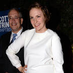 Lena Dunham takes on the little white dress trend