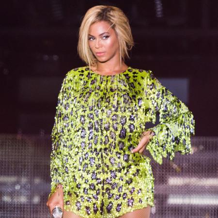 Beyonce at V Festival