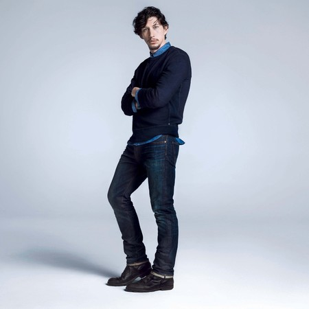 Adam Driver Gap Back To Blue campaign