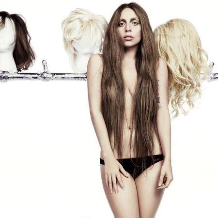 Lady Gaga's new image promoting ARTPOP