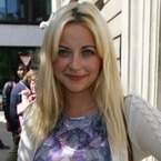 Charlotte Church is back with bleached blonde hair