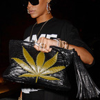 Rihanna's many statement handbags