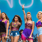 The Saturdays wow in V Festival prints