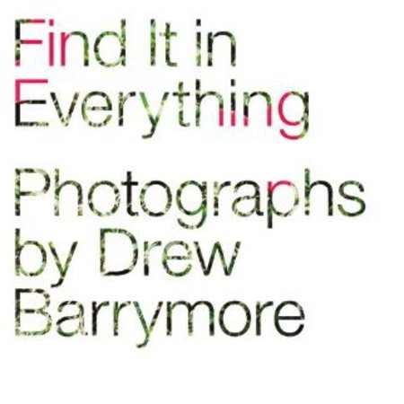 Drew Barrymore coffee table book