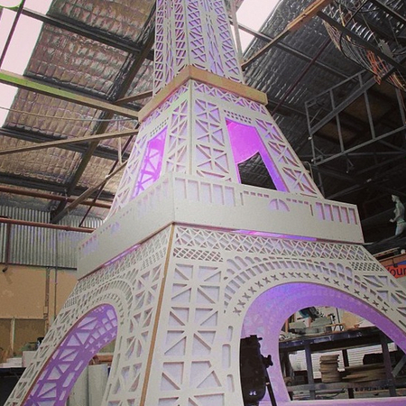 Kardashian Kollection Eiffel Tower for Sydney Fashion Festival