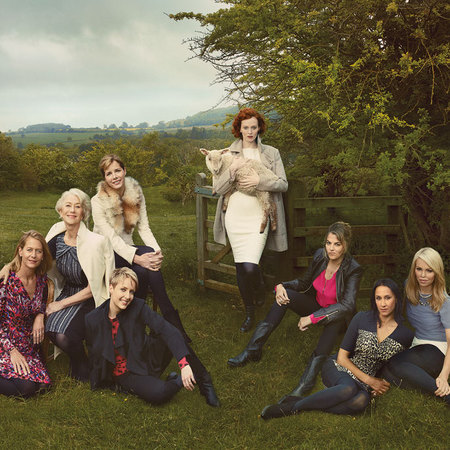 Meet Britain's Leading Ladies M&S AW13