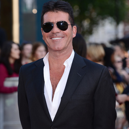 Simon Cowell at the One Direction première