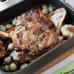 Slow roasted lamb recipe