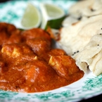 Original tikka masala with chicken by Anjum Anand