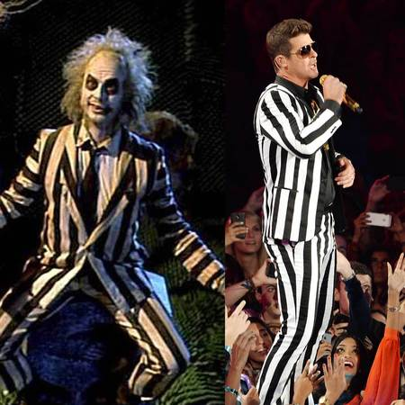 Robin Thick and Beetlejuice