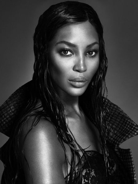 Naomi Campbell shoots naked cover for Interview magazine