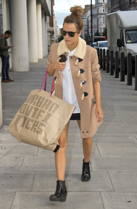 Caroline Flack hits Urban Outfitters for pre-X Factor shopping spree