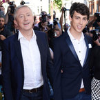 X Factor's Louis Walsh & Matt Richardson snap suits