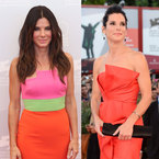 Sandra Bullock does dress double at Venice Film Festival